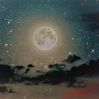 ¿No se ven estrellas desde la Luna?