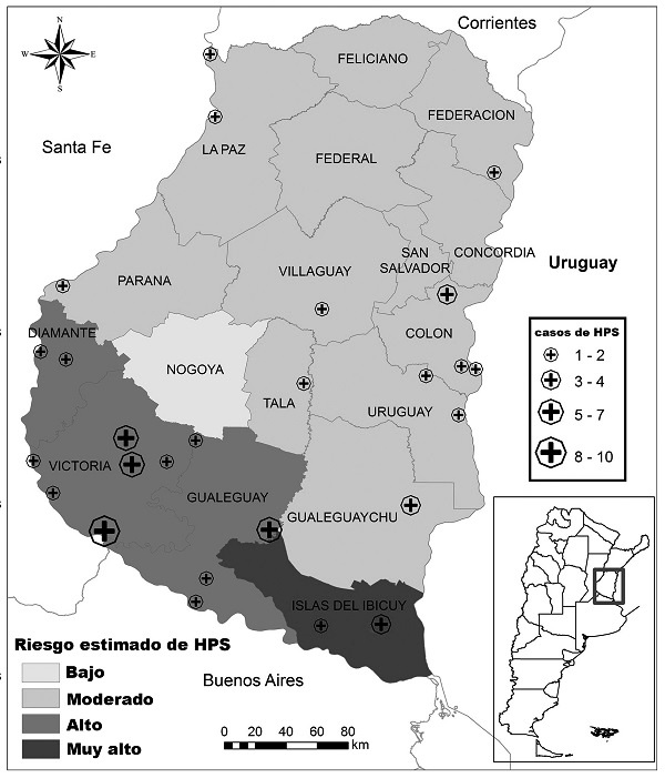 Hantavirus Pulmonary Syndrome Risk in Entre Ríos, Argentina